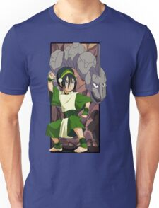 Toph and Onix - Pokemon and Earthbender Unisex T-Shirt