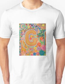 Initial G Unisex T-Shirt