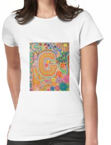 Initial G Womens Fitted T-Shirt