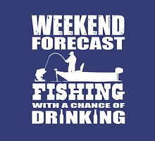 Weekend Forecast Fishing with a chance of Drinking Classic T-Shirt