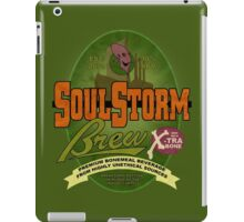 SoulStorm Brew Label iPad Case/Skin