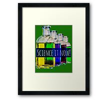 Science it now Framed Print