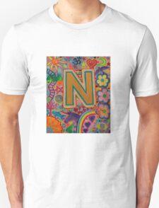 Initial N Unisex T-Shirt