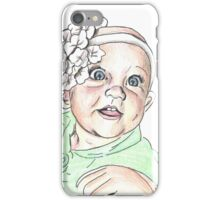 Baby with Headband iPhone Case/Skin