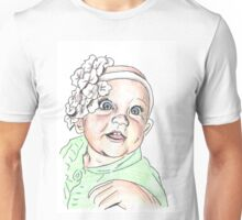 Baby with Headband Unisex T-Shirt