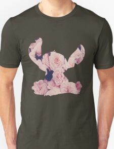 Flowers Stitch  Unisex T-Shirt