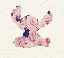Flowers Stitch  Hoodie