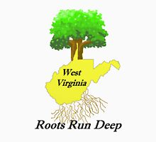 WEST VIRGINIA ROOTS ARE DEEP Unisex T-Shirt