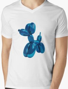 baloon dog Mens V-Neck T-Shirt