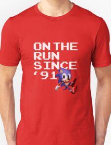 On the Run Since '91 T-Shirt