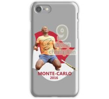 9 times champion iPhone Case/Skin