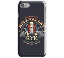 Hill Valley Gym iPhone Case/Skin
