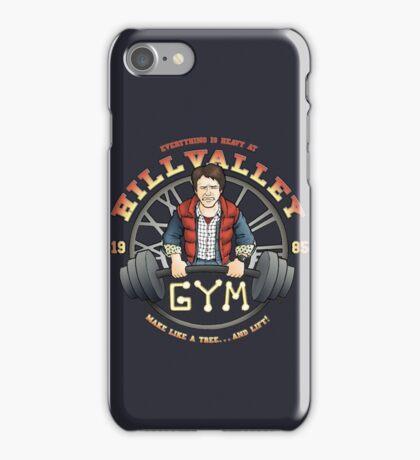 Hill Valley Gym iPhone Case/Skin