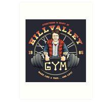 Hill Valley Gym Art Print
