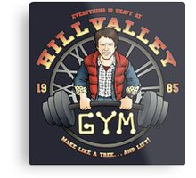 Hill Valley Gym Metal Print