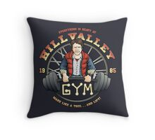 Hill Valley Gym Throw Pillow