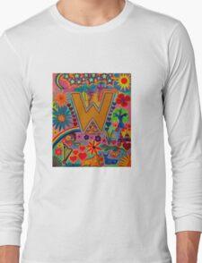 Initial W Long Sleeve T-Shirt