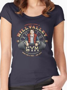 Hill Valley Gym Women's Fitted Scoop T-Shirt