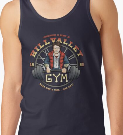 Hill Valley Gym Tank Top