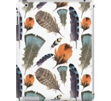 Watercolor feathers iPad Case/Skin