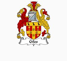 Giles Coat of Arms / Giles Family Crest Unisex T-Shirt