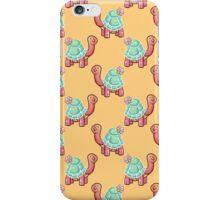 Flower Tortoise Pattern iPhone Case/Skin
