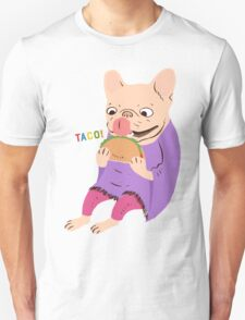 Frenchie Loves Taco T-Shirt