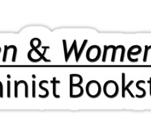 Women & Women First Feminist Bookstore Portlandia  Sticker