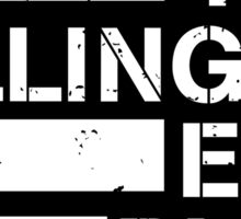 dillinger escape plan logo Sticker