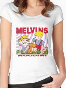 MELVINS - HOUDINI Women's Fitted Scoop T-Shirt