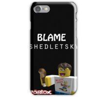 Roblox-Blame Shedletsky iPhone Case/Skin
