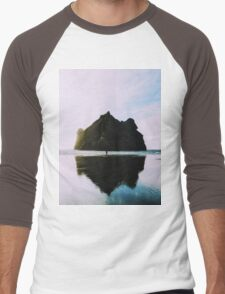 Mount Oceans Men's Baseball ¾ T-Shirt