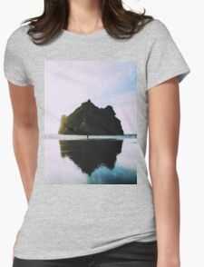 Mount Oceans Womens Fitted T-Shirt
