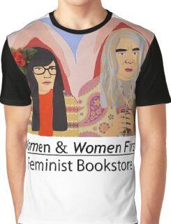 Women & Women First Feminist Bookstore Portlandia  Graphic T-Shirt