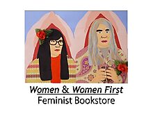 Women & Women First Feminist Bookstore Portlandia  Photographic Print