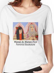 Women & Women First Feminist Bookstore Portlandia  Women's Relaxed Fit T-Shirt