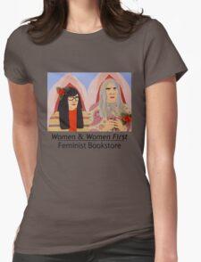 Women & Women First Feminist Bookstore Portlandia  Womens Fitted T-Shirt