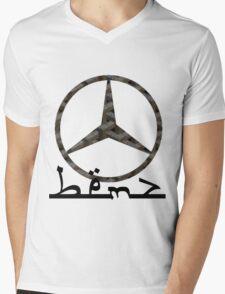 Mercedes x Goyard x Noahandsons Mens V-Neck T-Shirt