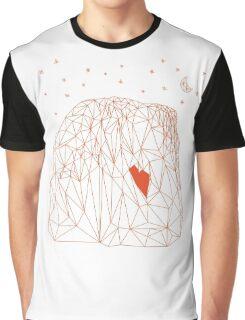 El Capitan Yosemite polygon grid  Graphic T-Shirt