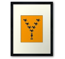 anomaly Y Framed Print