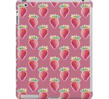 Pastel Strawberry Pink Pattern iPad Case/Skin