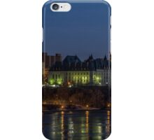 City scape at night iPhone Case/Skin