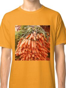 Carrots at the Market Classic T-Shirt