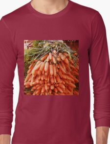 Carrots at the Market Long Sleeve T-Shirt