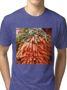 Carrots at the Market Tri-blend T-Shirt