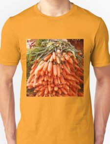Carrots at the Market Unisex T-Shirt