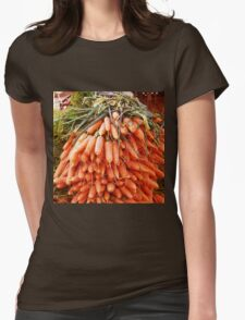 Carrots at the Market Womens Fitted T-Shirt