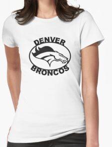 Denver Broncos Super Bowl Womens Fitted T-Shirt