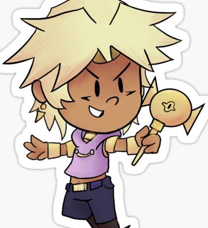 Sexy Blond Egyptian Sticker Sticker