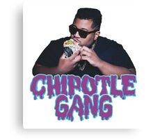 Chipotle Gang Canvas Print
